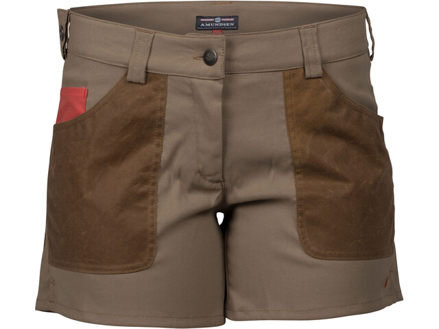"Amundsen Sports W's Field 5"" Shorts desert/tan"